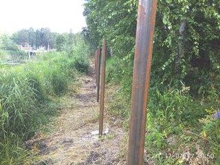 Забор из профнастила Киселёвск - цены с установкой под ключ от 1173 руб.