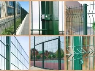 Забор из 3D сетки Киселёвск цена от 1173 руб.